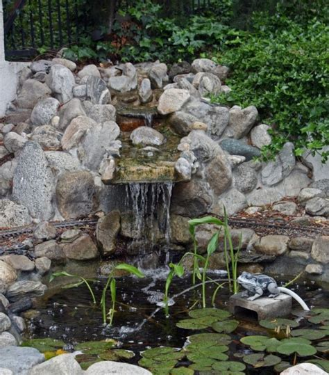 backyard ponds and fountains 67 cool backyard pond design ideas digsdigs