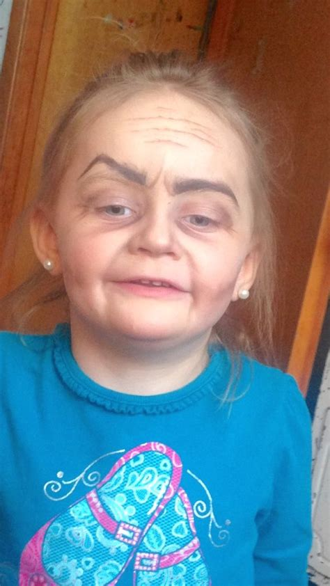 today show makeover older woman this 3 year old girl asked her aunt to do her makeup the