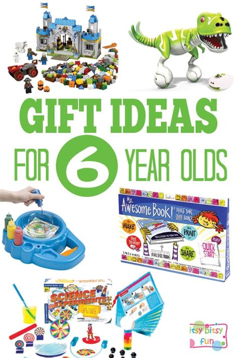gifts for 6 year olds itsy bitsy fun