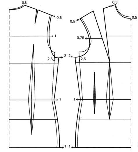 Pattern Drafting Adding Ease | adding ease to a bodice pattern
