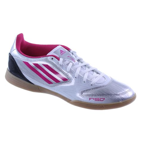 adidas womens  silverpink indoor soccer lifestyle