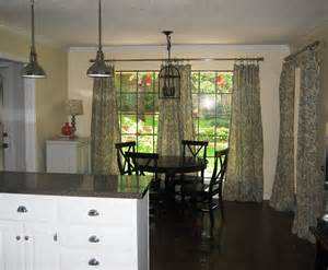 Kitchen Nook Curtains New House Before After The Kitchen The Steen Style