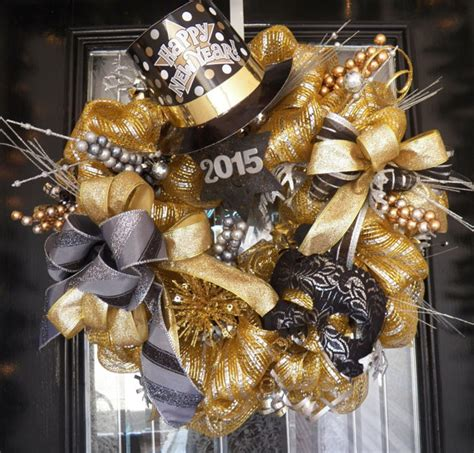 new years house ideas for adults pre order for 2016 new years wreath new years