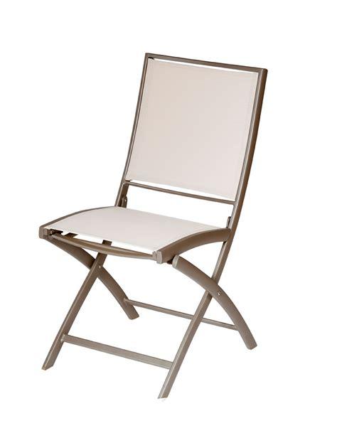 chaises pliantes but 2 chaises pliantes de jardin en toile pol alu muscade