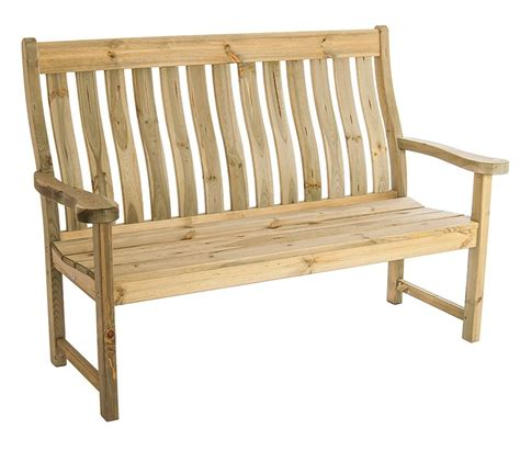 5ft bench alexander rose pine farmers 5ft bench gardensite co uk