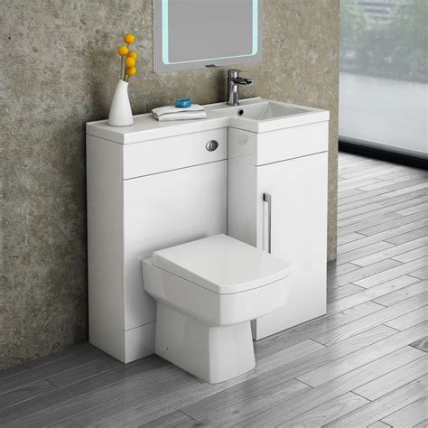 square toliet valencia 900 combination basin wc unit with square