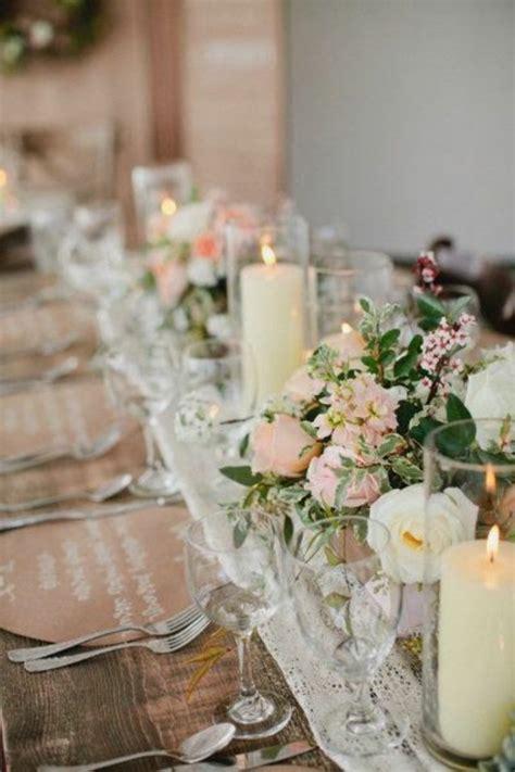 Hochzeitsdeko Kerzen by Hochzeitstischdeko Stillvolle Beispiele F 252 R Ihren Gro 223 En Tag