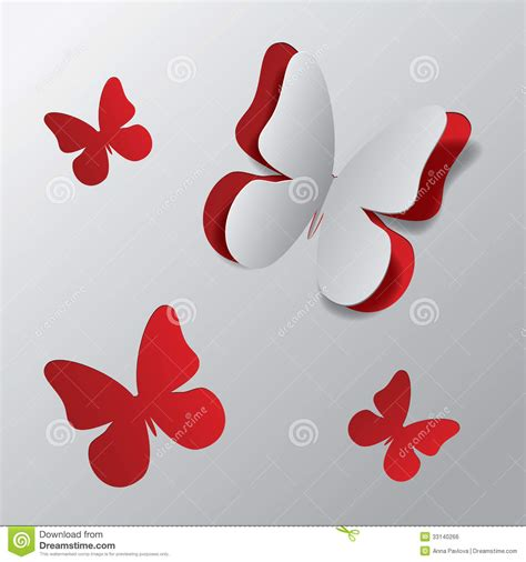 imagenes mariposas de papel mariposa de papel cortada ilustraci 243 n del vector