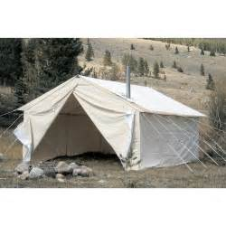 Wall Tent Big Horn 14x16 Wall Tent 99205 Outfitter Amp Canvas