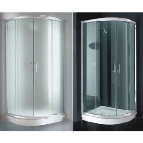 cabine doccia semicircolari box doccia semicircolare cm 80x80 90x90 trasparente opaco