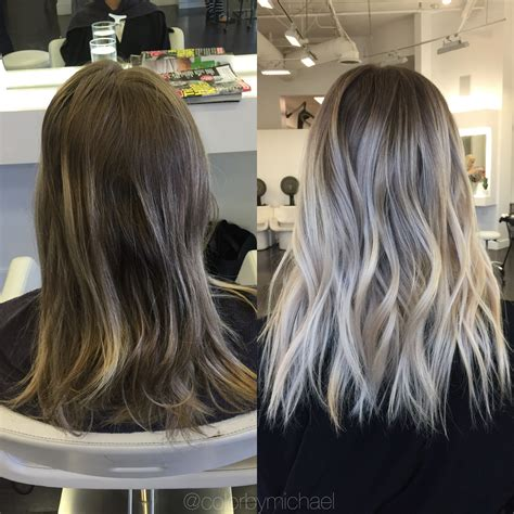 shades eq 9t transformation faded to light ash rooty blonde career