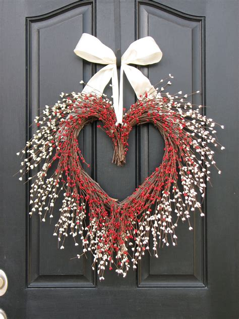 the kissing wreath door wreaths valentine s day wreath