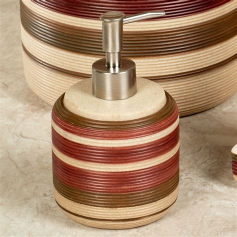 southwest bathroom accessories sonorah striped southwest bath accessories by veratex