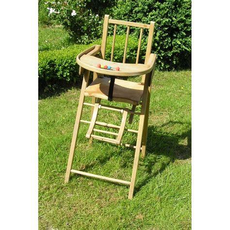 chaise bebe en bois chaise haute en bois pour b 233 b 233 broc23