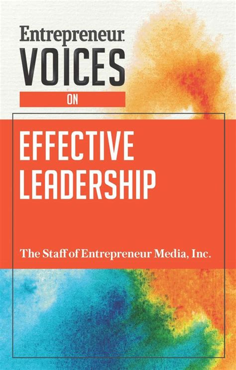 entrepreneur voices on effective leadership books the event planning recipe for success