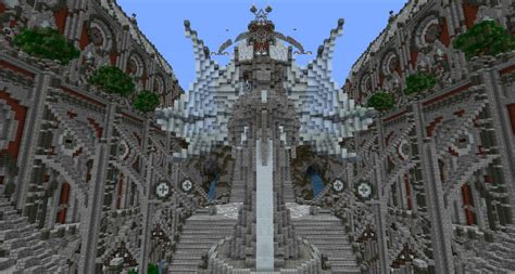 Mansion Blueprint cathedral of artium minecraft project