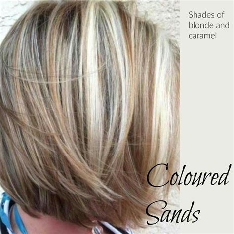color for hair coloured sands with lowlights hair colors
