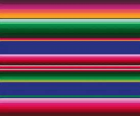 Mexican Party Decor Oilcloth Serape Based Upon The Colourful Traditional