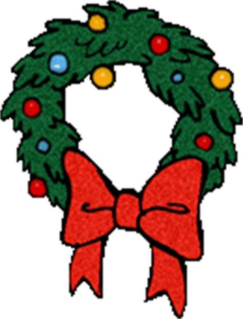 funny animated christmas wreaths free wreaths clipart wreath animations