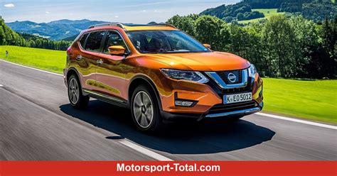 Nissan X Trail Kofferraum Abmessungen by Nissan X Trail Facelift 2018 Infos Zu Preis Kofferraum Ma 223 E