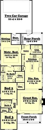 narrow lot house plans best 25 narrow lot house plans ideas on
