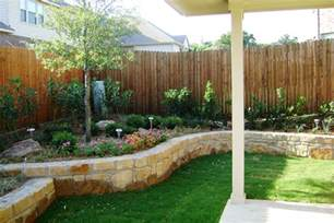 Backyard Landscape Ideas by About To Make Backyard Landscaping On A Budget Front