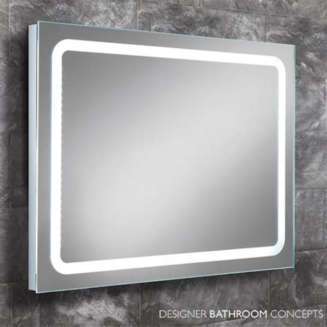 red bathroom mirror red designer steam free illuminated bathroom mirror