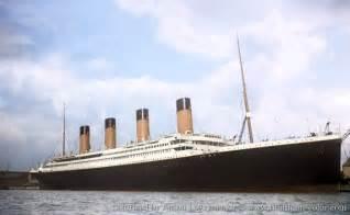 titanic color titanic in color titanic in color