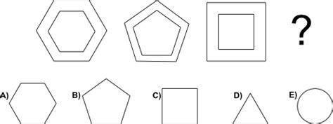 test di logica matematica trova l ultima incognita di una successione tra figure
