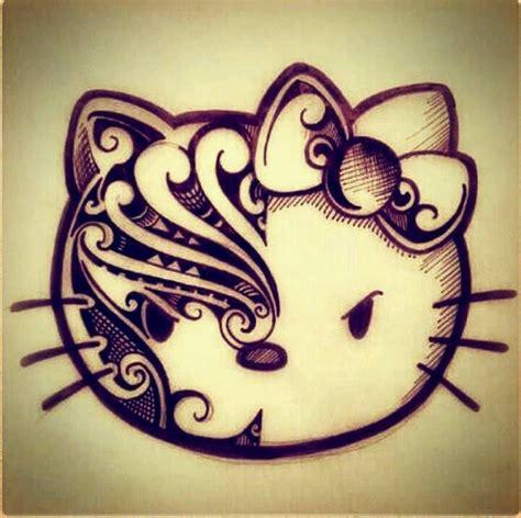 imagenes de hello kitty tatuajes tribal hello kitty tattoos pinterest hello kitty and