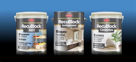 productos para la humedad en paredes interiores recublock para la humedad y las manchas en paredes y
