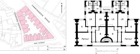 Online Floor Plan Drawing farringdon road british history online