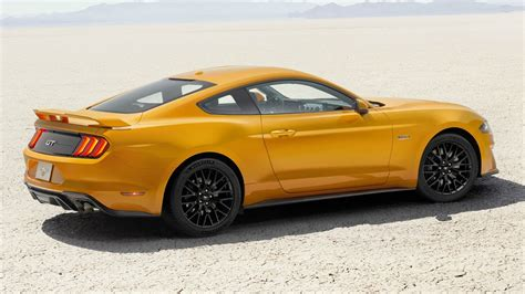 ford mustang  gt improved performance youtube