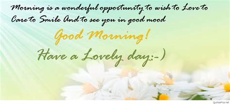 good morning cards sayings quotes