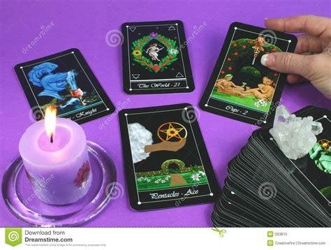 tarot gratis espiritual reading tarot cards royalty free stock photo image 263815