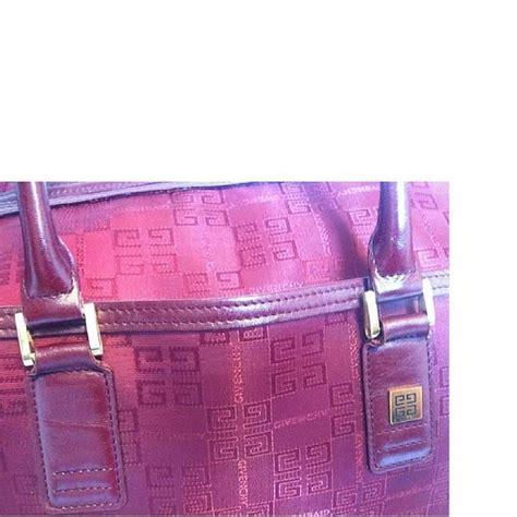 Fashion Bag Jh2036 Colour Wine vintage givenchy travel duffle bag in logo jacquard wine