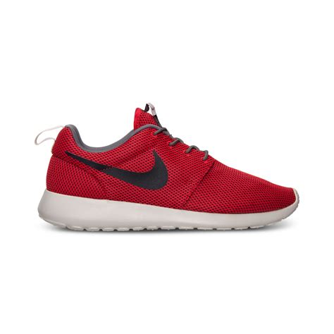nike roshe run sneakers nike mens roshe run casual sneakers from finish line in