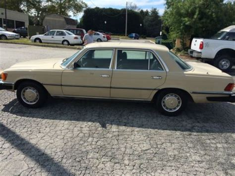 purchase used 1976 mercedes 450sel in great running condition in west chester pennsylvania