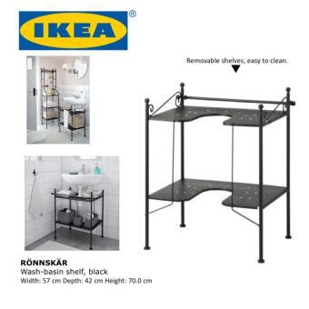 ronnskar sink shelf sell ikea ronnskar wash basin shelf bathroom storage