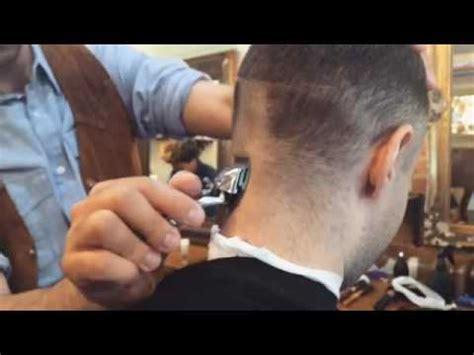 manual clipper haircut in progress haircut manual clipper 1