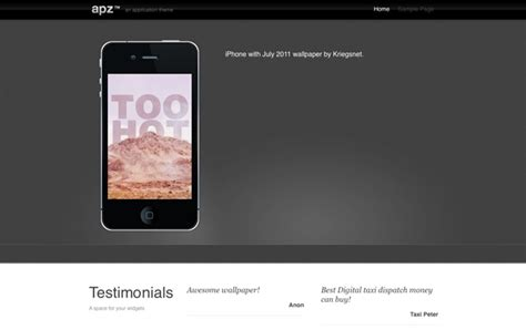 themes for iphone apps 6 wordpress themes for iphone apps
