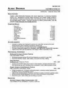 Technical Skills Exles For Resume by Exles Of Technical Skills For Resume Template With Resume Skills Exles