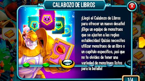 libro desafo max hasta donde monster legends nuevo desafi 243 calabozo de libros dungeon of books youtube