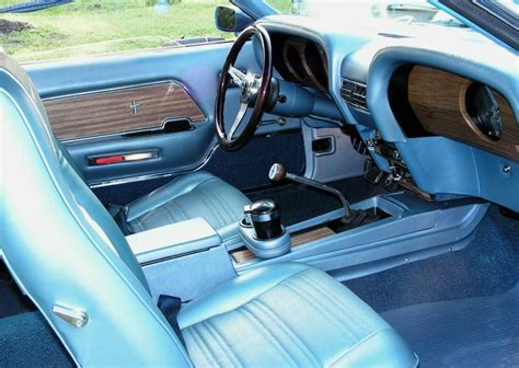 acapulco blue 1969 ford mustang gt fastback