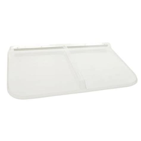 window well cover home depot shape products 45 in x 26 in polycarbonate rectangular