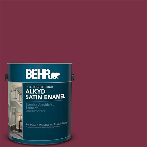 behr s spiced wine paint for the front door i love this behr 1 gal ppu1 13 spiced wine satin enamel alkyd