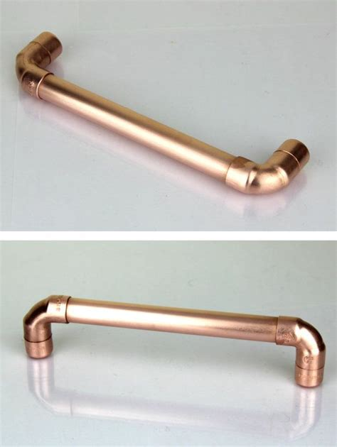 bright copper cabinet pulls modern proper copper pull contemporary drawer handle