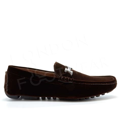 loafers uk mens mens faux suede casual loafers moccasins slip on driving