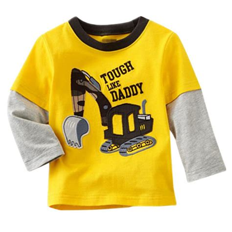 Kaos Boy Clothing boy toddler sleeve cotton t shirt clothes blouse