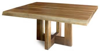 Solid Wood Dining Table Contemporary Jacaranda Dining Table Solid Edge Wood Contemporary Dining Tables New York By